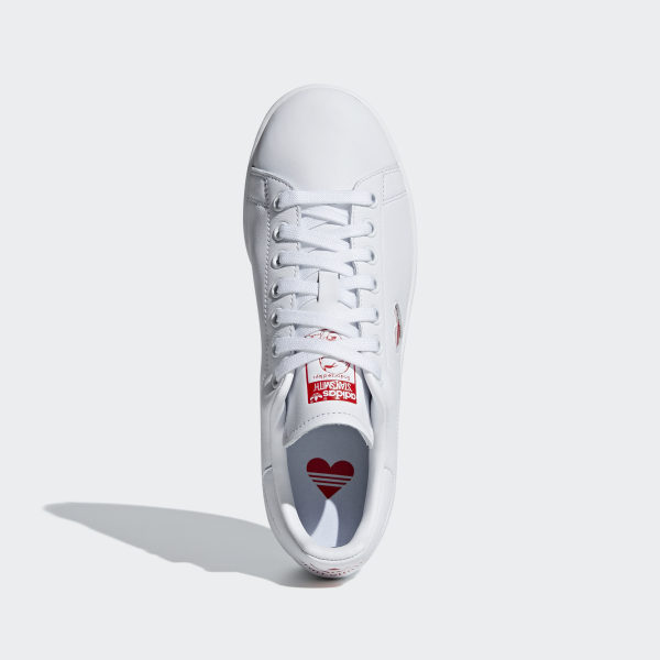 Stan Smith Shoes Cloud White / Active Red / Cloud White G27893