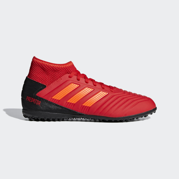 a834749be1ae3 CHUTEIRA PREDATOR 19 3 TF JR Active Red / Solar Red / Core Black CM8547