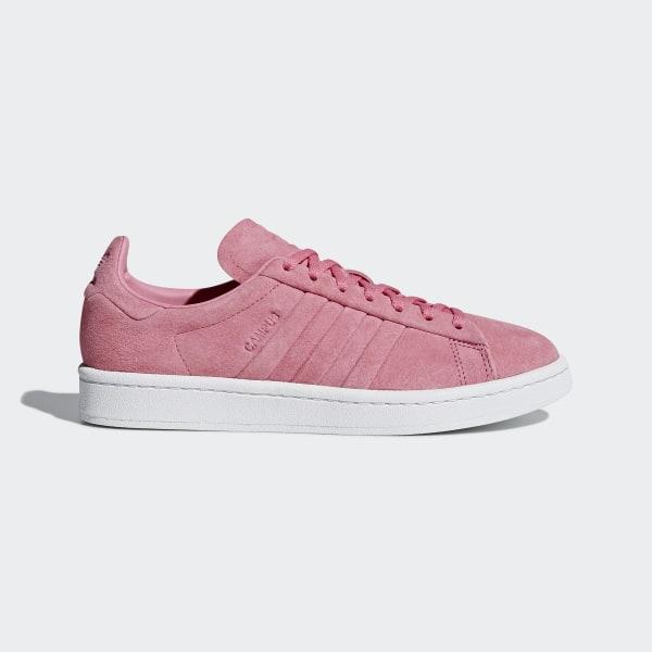 adidas campus mujer rosa