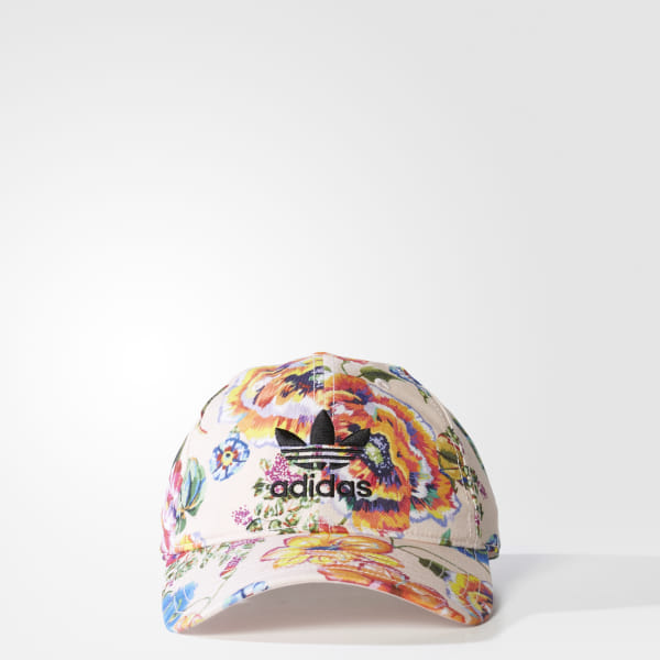 c56c384a87 adidas Floral Print Hat - Pink | adidas US