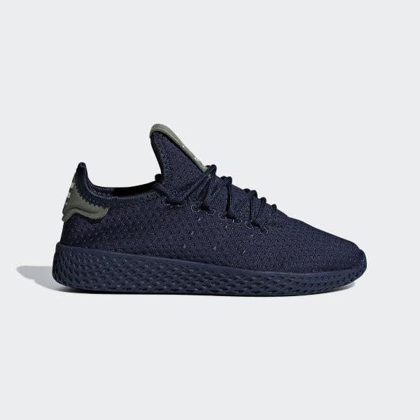 various colors 1b864 db0b7 Pharrell Williams Tennis Hu Shoes Collegiate Navy   Collegiate Navy   Off  White B37088