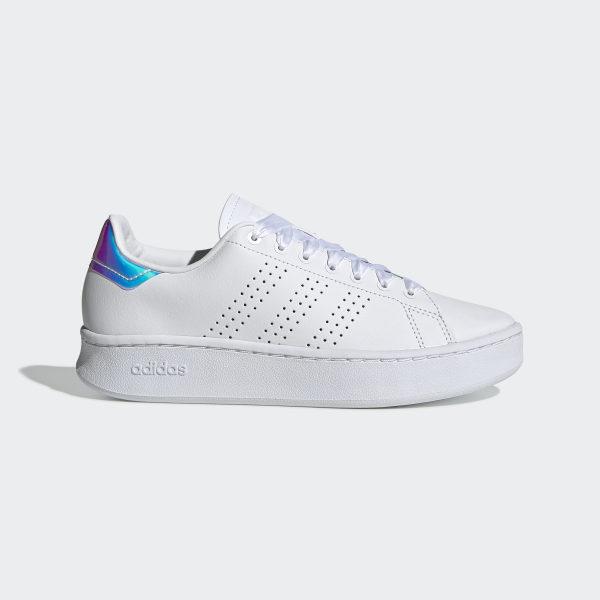 new style f3078 a5bd3 adidas Advantage Bold Shoes - White | adidas UK