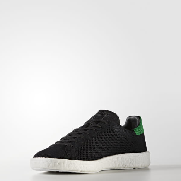 best service dbe62 21d02 adidas Stan Smith Boost Primeknit Shoes - Black | adidas US