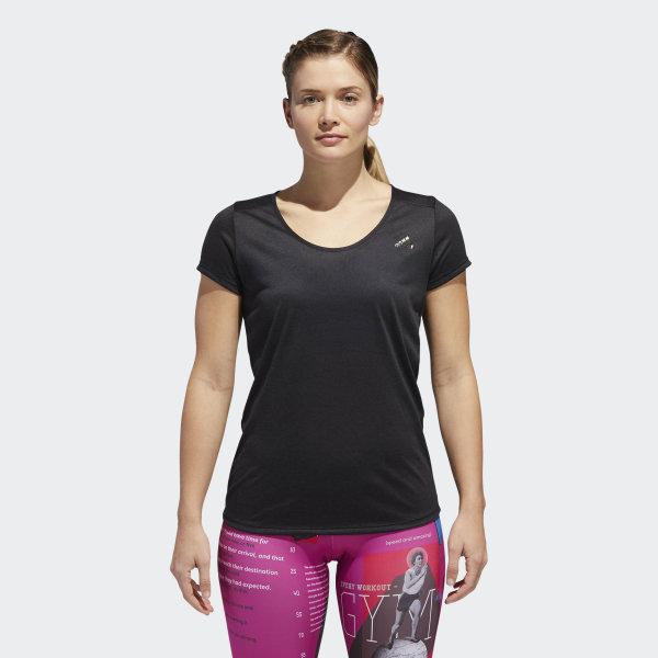 db19ca0cdd Camiseta Multifuncional Leve Essentials - Preto adidas