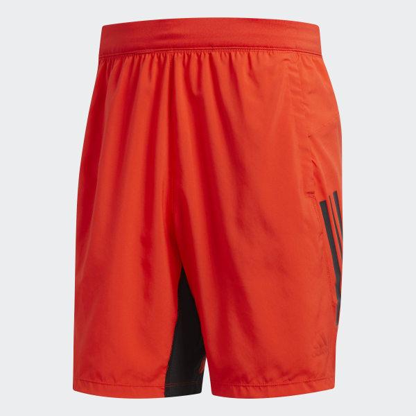 08d623a7d2 adidas 4KRFT Tech Woven 3-Stripes Shorts - Red   adidas US