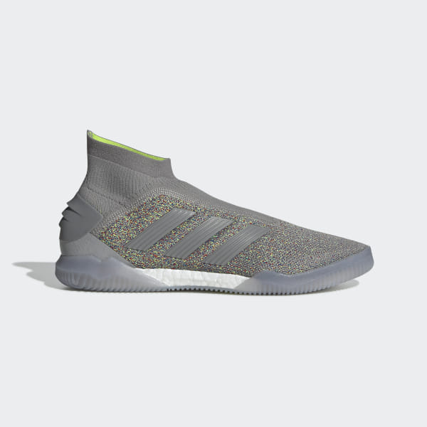 the latest 1b565 22360 Predator 19+ Shoes Charcoal Solid Grey   Charcoal Solid Grey   Solar Yellow  G26310