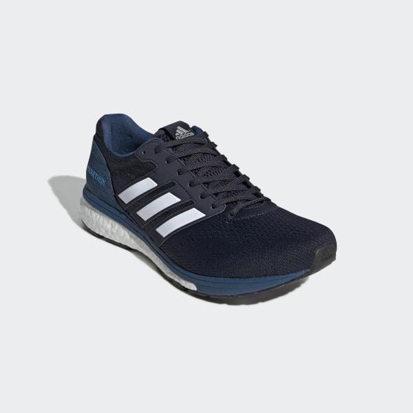 b64d52f86c3e adizero Boston 7 Shoes Legend Ink   Cloud White   Shock Cyan EF7631