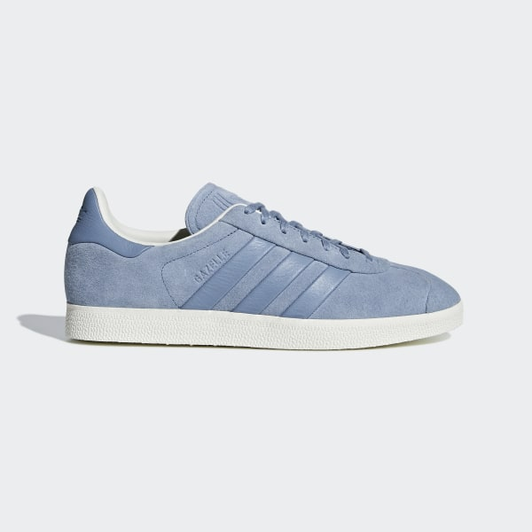 d5d7349ee5f37 adidas Gazelle Stitch-and-Turn Shoes - Blue | adidas US