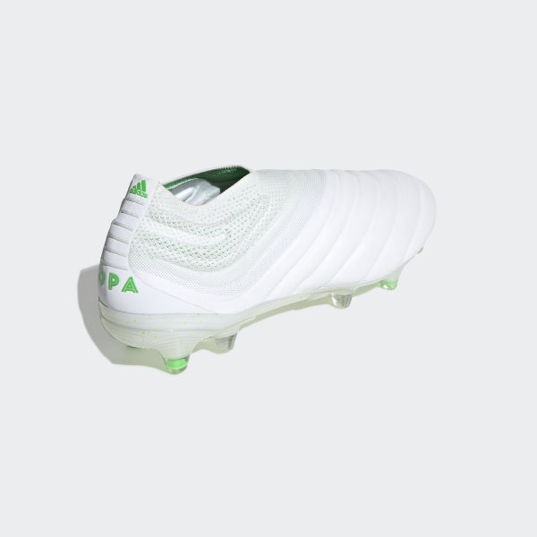 98dc9f8cd Copa 19+ Firm Ground Boots Ftwr White / Solar Lime / Ftwr White BB9184