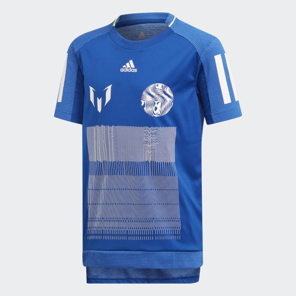 reputable site eabe8 0787e adidas Messi Icon Jersey - Blue | adidas Finland