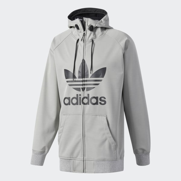 adidas Greeley Soft Shell Jacket Grey | adidas US