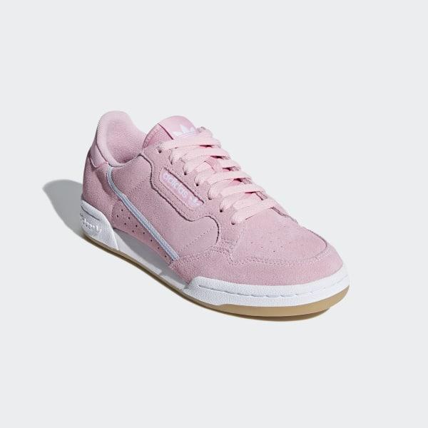 online retailer 7c654 36d63 Continental 80 Shoes True Pink   Periwinkle   Cloud White G27720