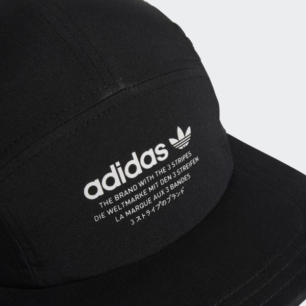 Men's adidas Originals 5 Panel Blocked Strapback Hat