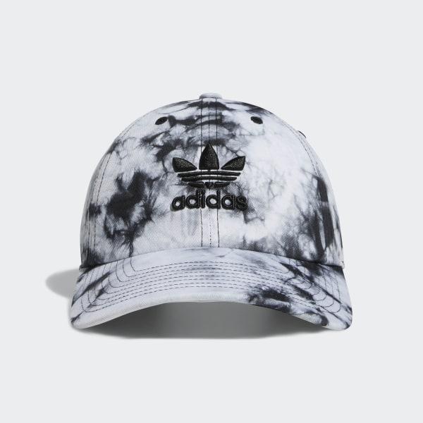 0ed9c999 adidas Relaxed Tie-Dye Strap-Back Hat - Black | adidas US