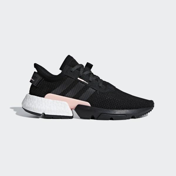 hot sale online 54eb1 4f9a3 POD-S3.1 Shoes Core Black   Core Black   Clear Orange B37447