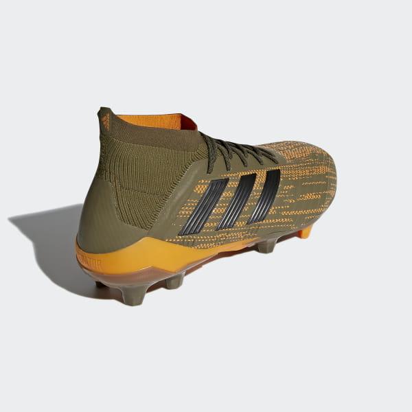 c682e52be Predator 18.1 Firm Ground Boots Trace Olive Core Black Bright Orange CM7412