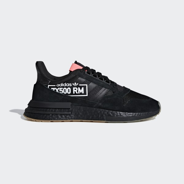 adidas zx chaussures de sport hommes all leather black