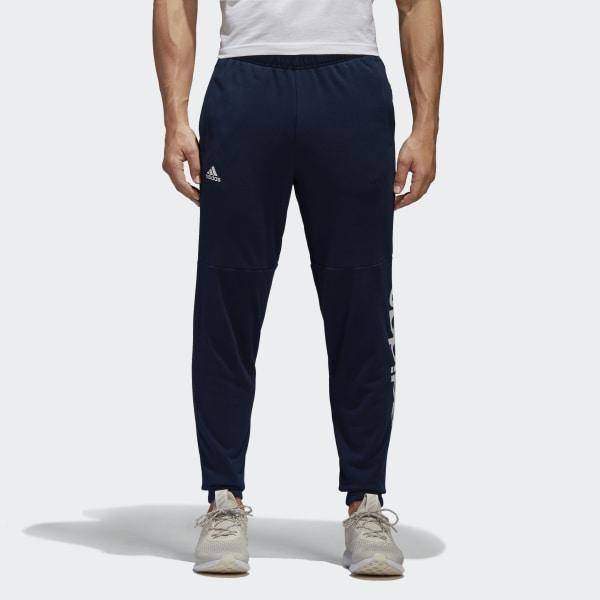 adidas Essentials Linear Logo Hose blau | adidas Austria