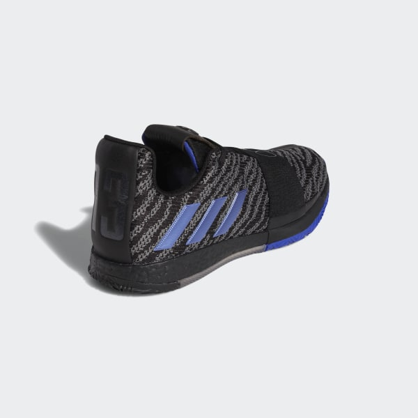 66802200f950 Harden Vol. 3 Shoes Core Black   Active Blue   Dgh Solid Grey G26811