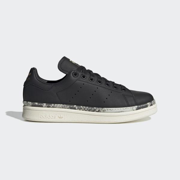 huge discount b3011 4e042 Stan Smith New Bold Shoes Core Black   Off White   Supplier Colour BD8053