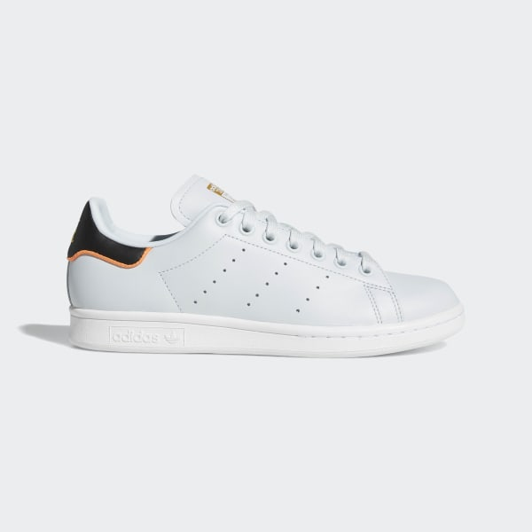 Details about Mens Adidas Stan Smith Trainers Core White Dark Blue Trainers Shoes