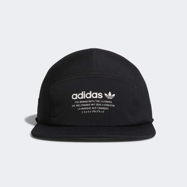 online store acaf8 e09fe NMD 5-Panel Hat Black CI8485