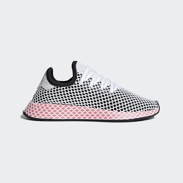 adidas Deerupt Runner W Schuhe schwarz weiß pink