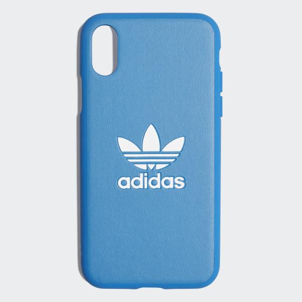 sports shoes 1b49a 6f7aa adidas Basic Logo Case iPhone X - Blue | adidas Ireland