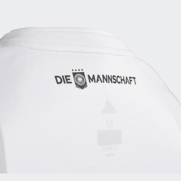 9426767fc8f Germany Home Replica Jersey White   Black BQ8460