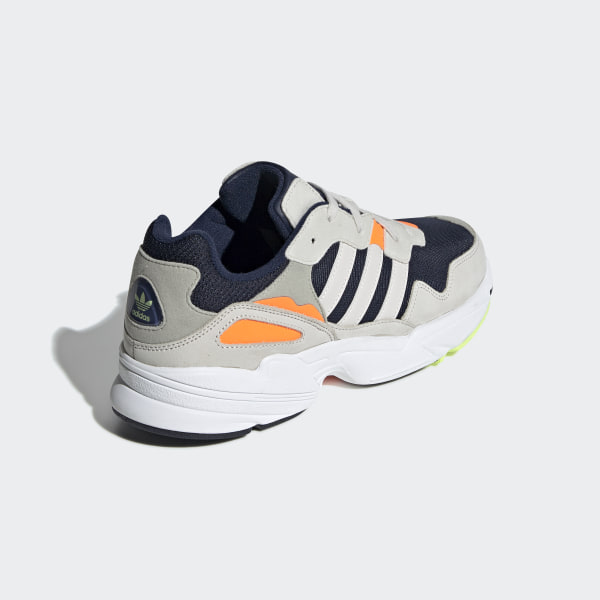 brand new 42b3c 6c402 Yung-96 Shoes Collegiate Navy   Raw White   Solar Orange F35017
