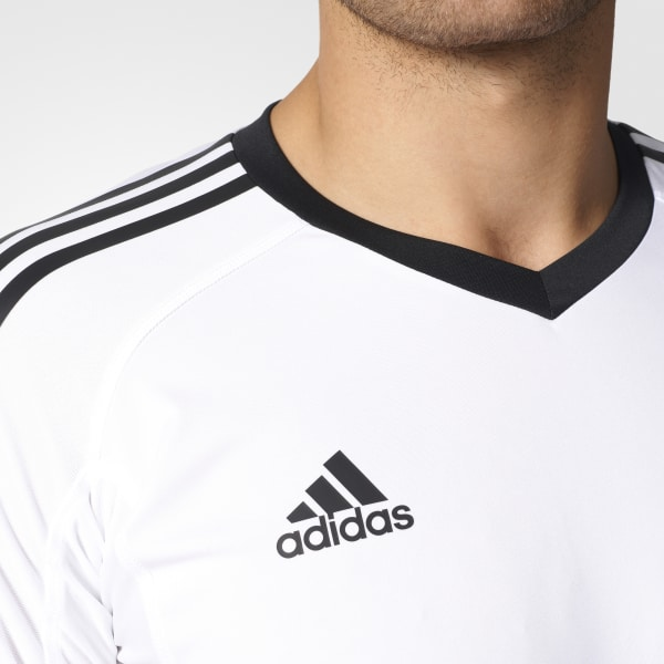 55d02846600 Revigo 17 Goalkeeper Jersey White   Black AZ5393