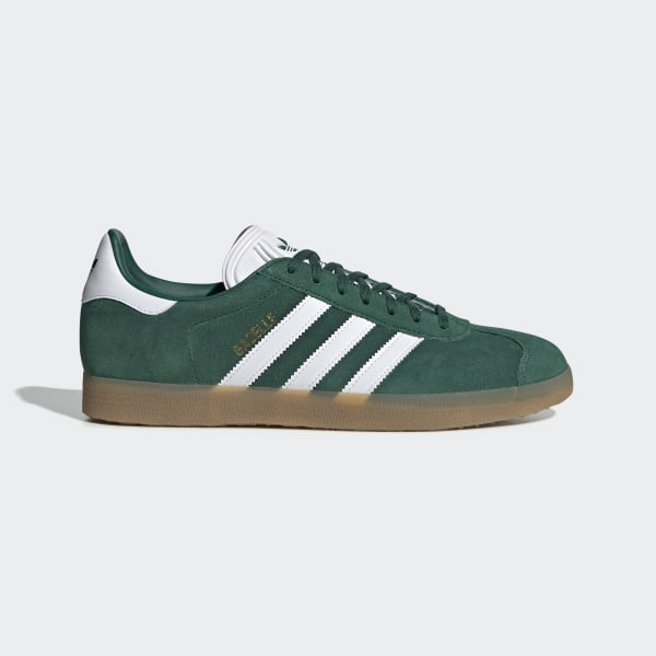 6ce2b77d1f7e Gazelle Shoes Collegiate Green / Cloud White / Gum 3 DA8872