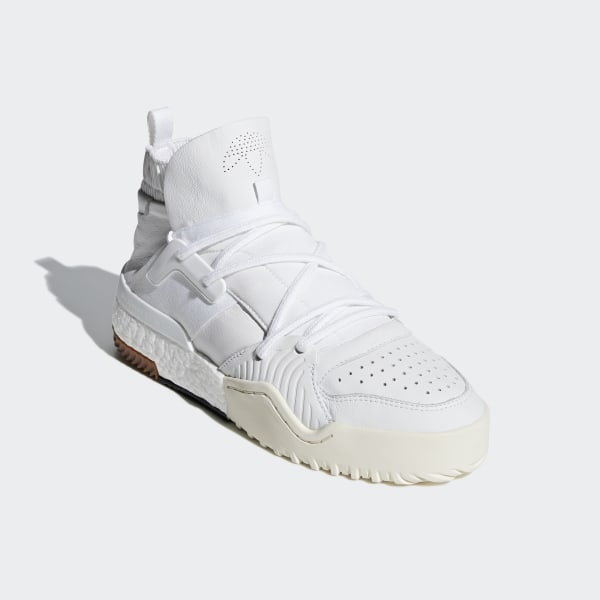 89203b8df40 adidas Originals by AW BBall Shoes White   White   White F35296