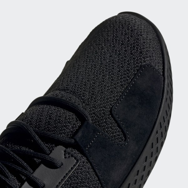 adidas Pharrell Williams Tennis Hu V2 Shoes Black | adidas New Zealand