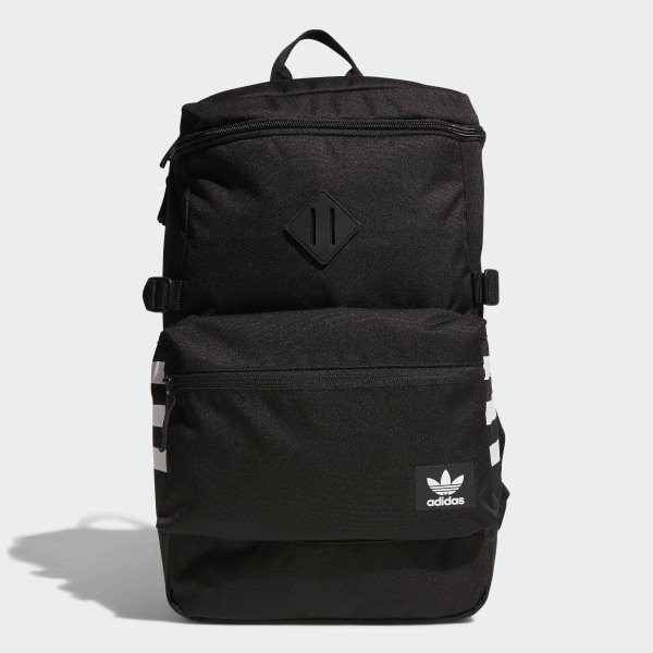e690973c46 adidas National Zip Top Backpack - Black | adidas US