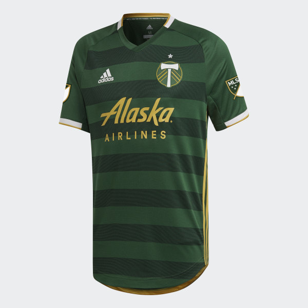 new style 568d4 76f6a adidas Portland Timbers Home Authentic Jersey - Green | adidas US
