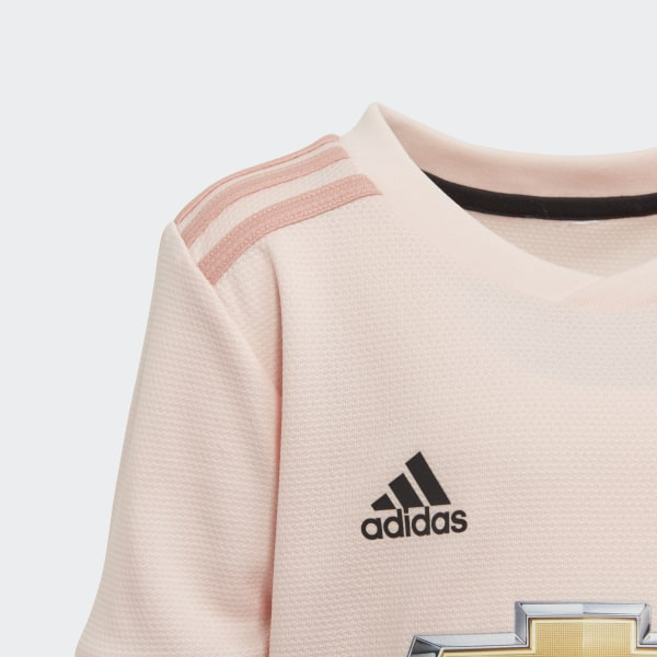 9ee7d2414f5 Manchester United Away Mini Kit Icey Pink   Trace Pink   Black CG0062