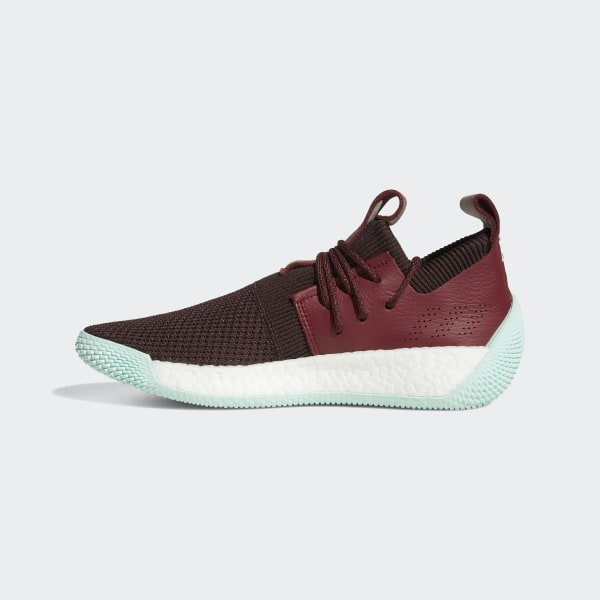 2ca35ffbf76e Harden Vol. 2 LS Shoes Night Red   Noble Maroon   Clear Mint CG6277