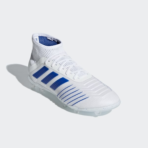 65d85294337d8 Predator 19.1 Firm Ground Boots Ftwr White / Bold Blue / Ftwr White CM8532