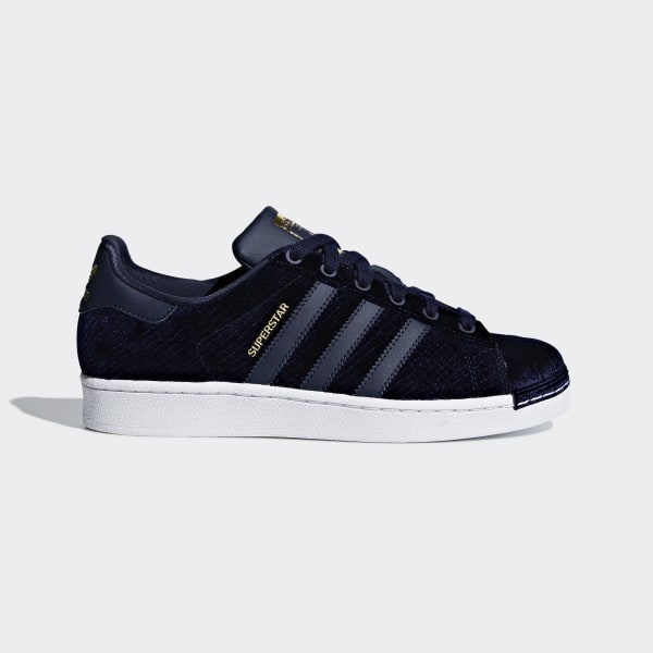 adidas Chaussure Superstar - bleu   adidas