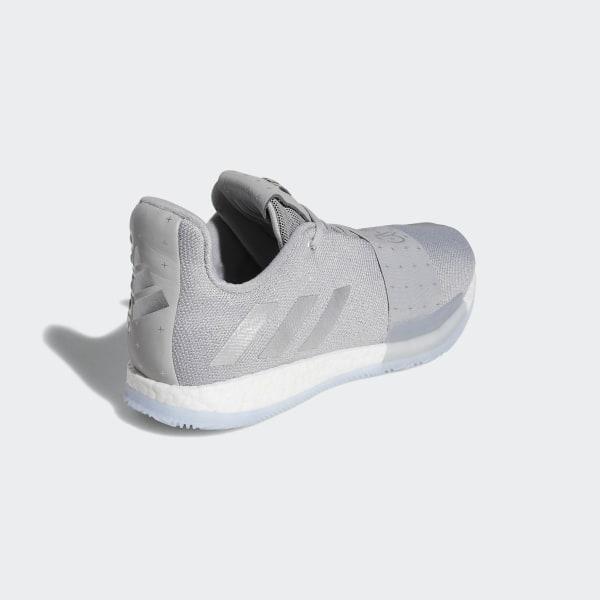 6e22bb43a903 Harden Vol. 3 Shoes Grey Two   Silver Metallic   Aero Blue F36443