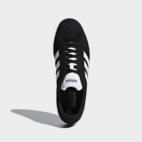 Chaussures skateboard VL Court 2.0 Homme noir Adidas
