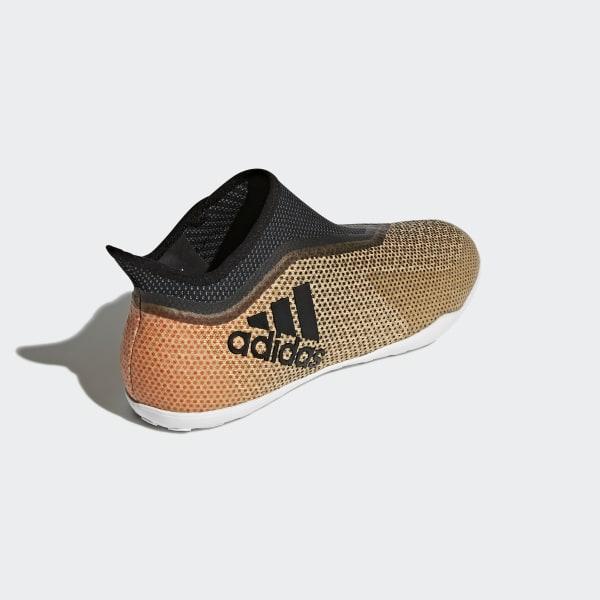 e00e27a2d X Tango 17+ Purespeed Indoor Boots Tactile Gold Metallic / Core Black / Solar  Red
