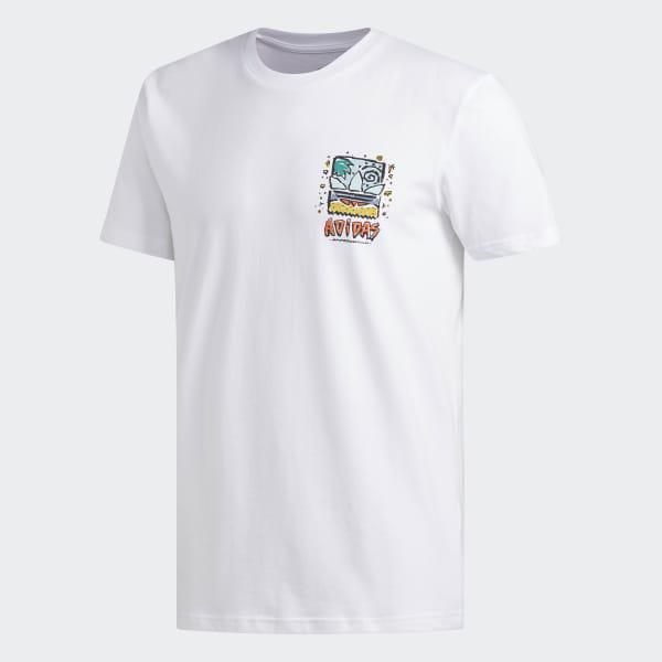 a4b633734d09 Roanoke T-Shirt White / Pyrite / True Orange / Clear Mint DU8350