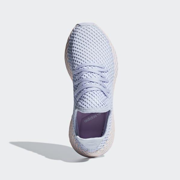 Détails sur adidas Originals Deerupt W Runner Aero Blue Clear Orange Running Shoes B37878