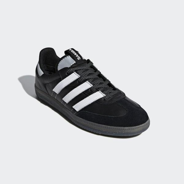 separation shoes 41314 e4a2b Samba OG MS Shoes Core Black   Cloud White   Silver Metallic BD7523