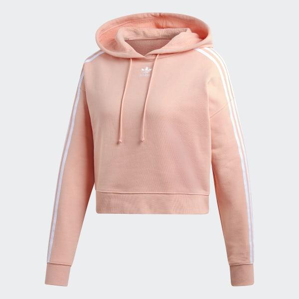 3d5cf2b0 adidas Cropped Hoodie - Pink | adidas US