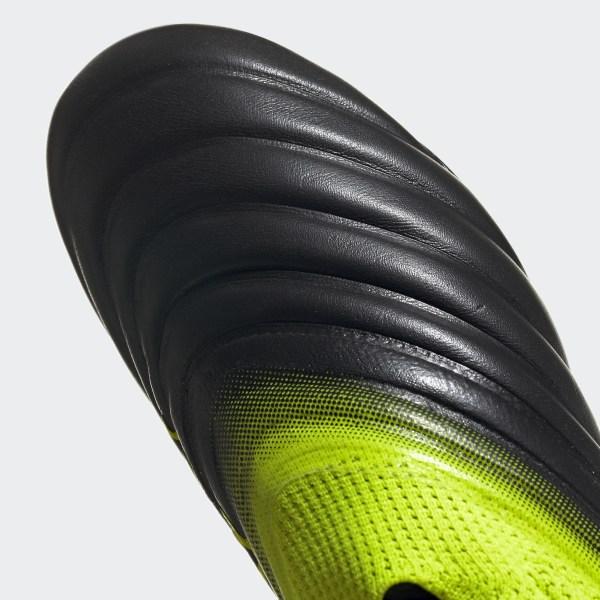 23689f94cc4 Copa 19+ Firm Ground Boots Core Black   Solar Yellow   Core Black BB8087
