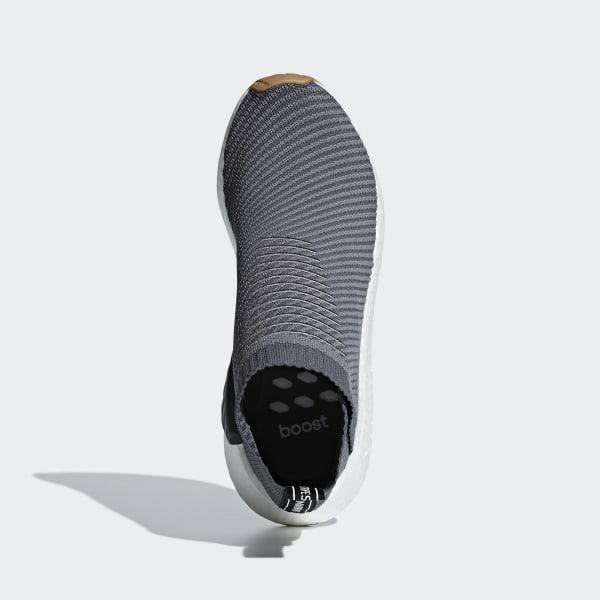 NMD_CS2 Primeknit Shoes Grey Four / Grey / Gum D96742