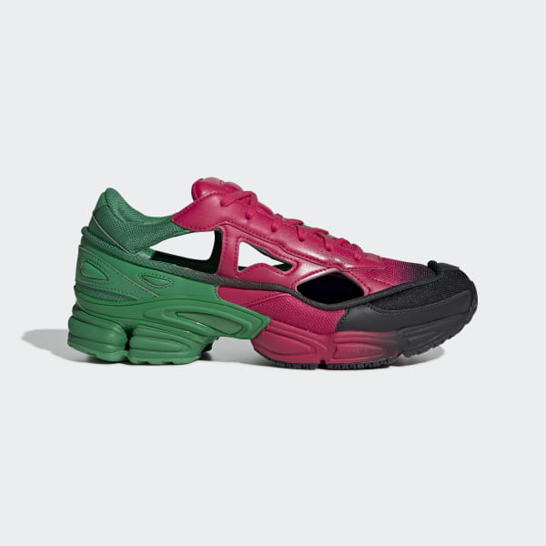 uk availability 7c2e3 d1764 RS Replicant Ozweego Shoes Green   Vivid Berry   Vivid Berry EE7932